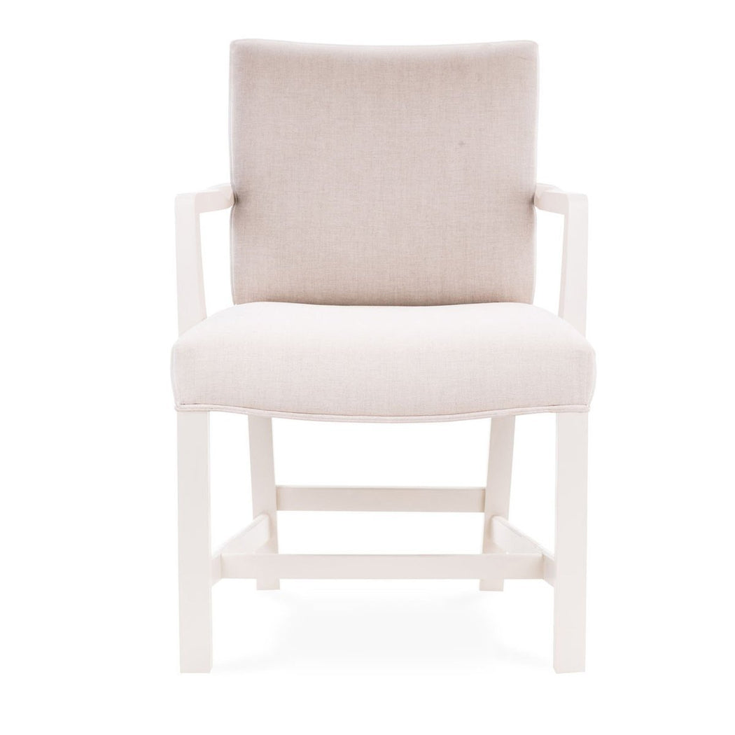 Robert Upholstered Arm Chair - COM - Dowel Furniture