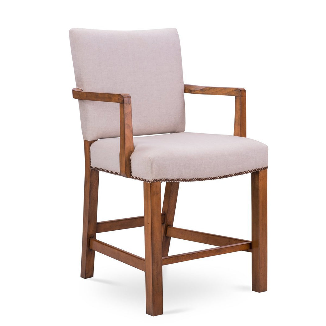 Robert Upholstered Bar Stool - COM - Dowel Furniture