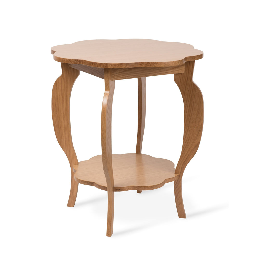 Scallop Side Table - Dowel Furniture