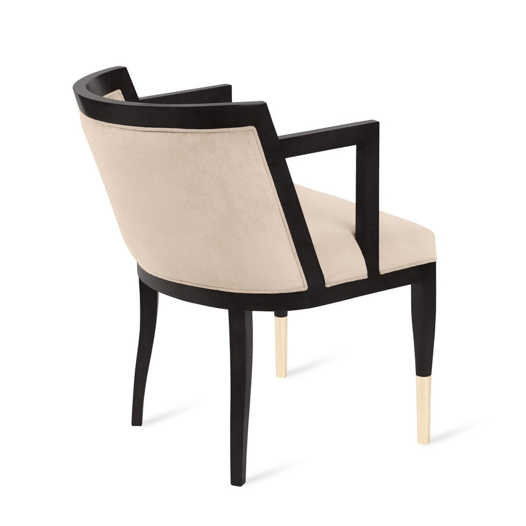 Steinbeck Arm Chair - COM - Dowel Furniture