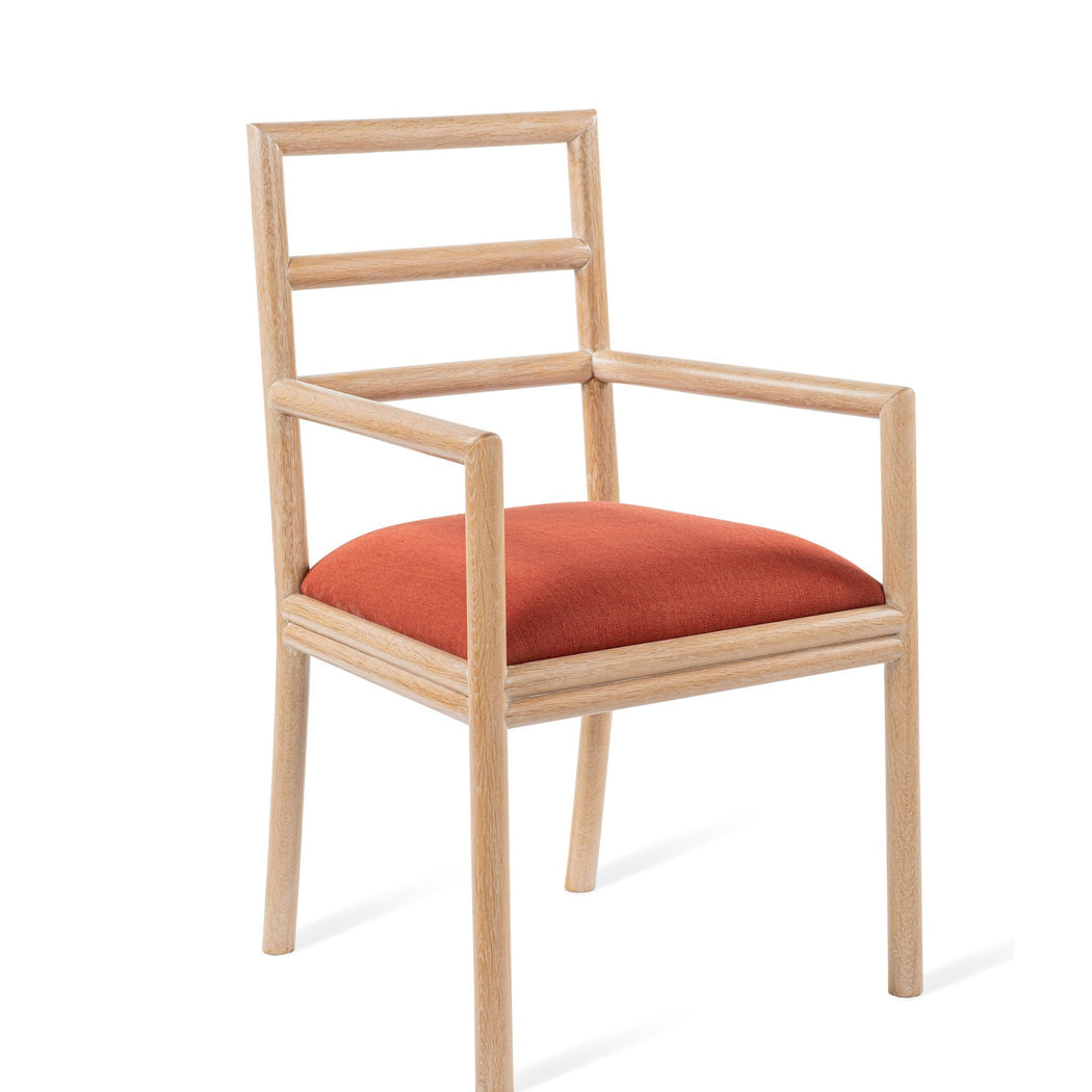Varenne Arm Chair - COM - Dowel Furniture