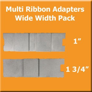 Multi Ribbon Plate Pack - Wide Widths