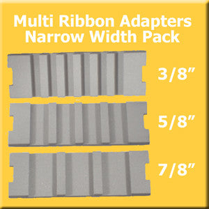 Multi Ribbon Plate Pack - Narrow Widths
