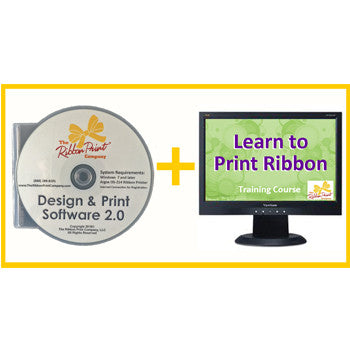 Combo - Design & Print Software PLUS Online Training Course