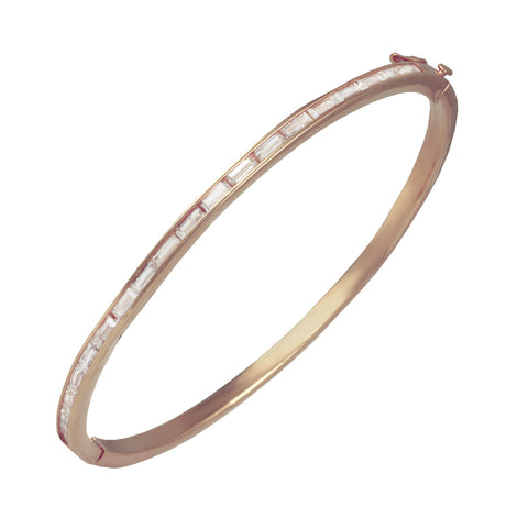 EFFIE'S<BR>ROSE GOLD BANGLE