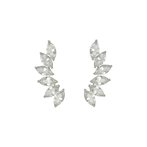 MARQUISE DIAMOND EAR CRAWLER JEWELRY