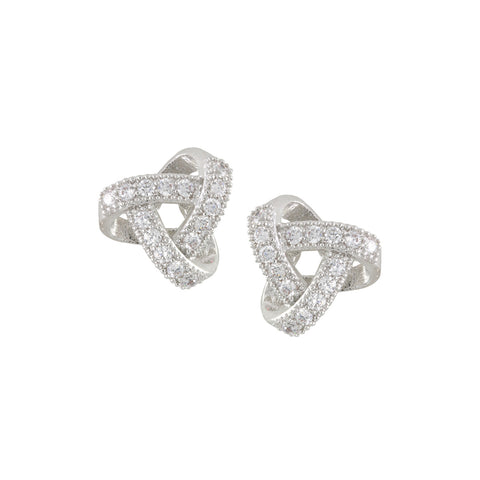 TRISTA'S<BR>LOVE KNOT EARRINGS