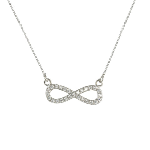 NOVA'S<BR>INFINITY DIAMOND NECKLACE
