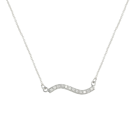 RICHELLE'S<BR>MINIMALIST WAVE NECKLACE