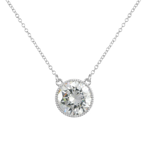 BLAIRE'S<BR>SIMPLY STUNNING DIAMOND NECKLACE