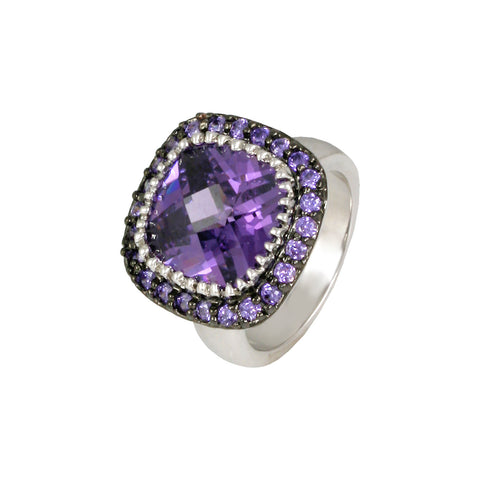 ANAMARIA'S<BR>AMETHYST STATEMENT RING