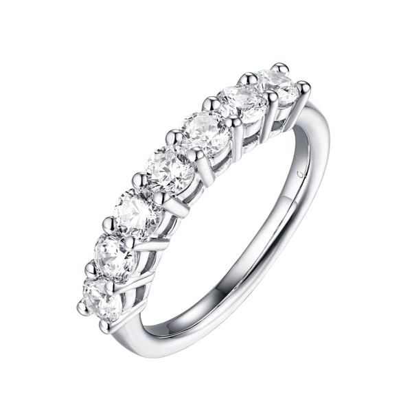 7 Diamond Prong Band