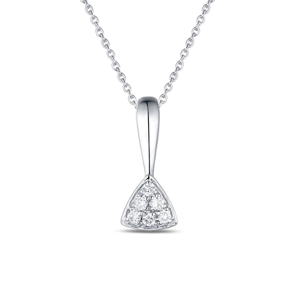 White Gold Fashion Diamond Pendant - S2012135