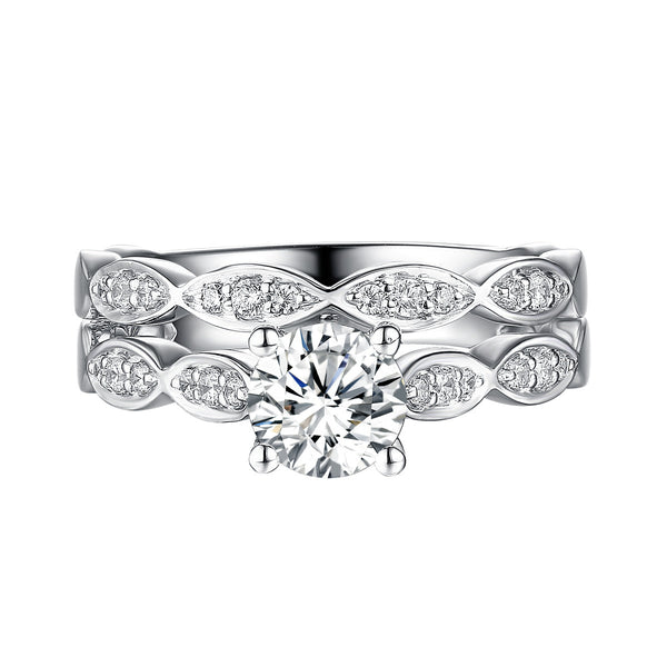 Classics Diamond Engagement Ring S201823A and Band Set S201823B