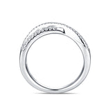 14KT White Gold Diamond Anniversary Band - S2012145