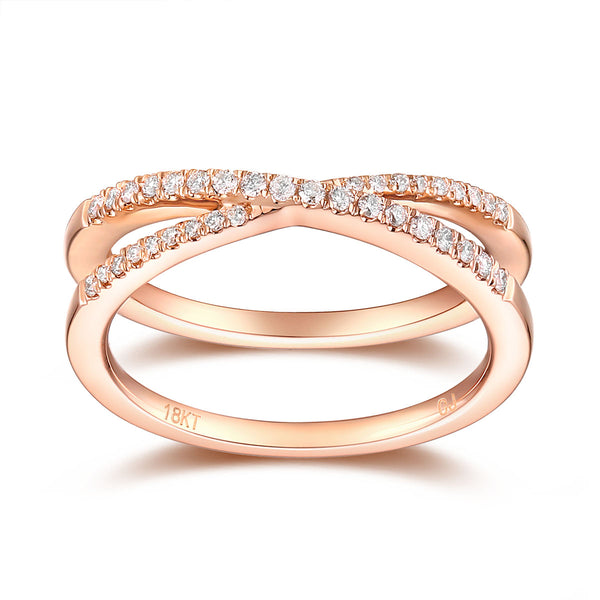 Rose Gold Diamond Fashion Band - S2012153
