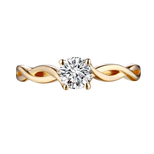 Solitaire Round Engagement Ring S201586