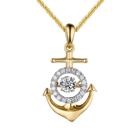Dancing Diamond Beach Pendant | QAP0063