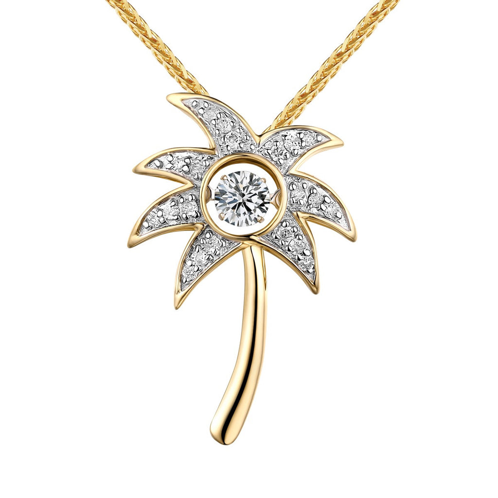 cj llc international jewels products dancing diamond beach pendant