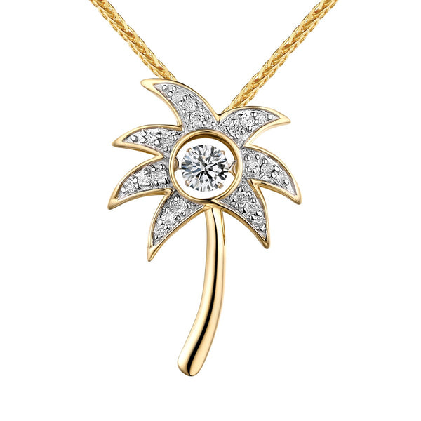 Dancing Diamond Beach Pendant | QAP0068