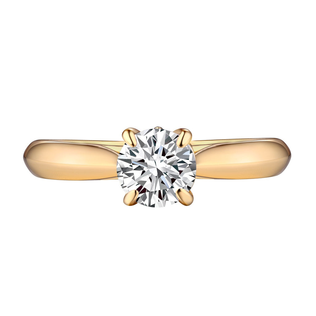 Solitaire Round Engagement Ring S201588