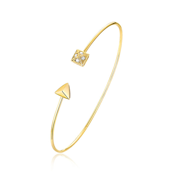 Yellow Gold Diamond Bracelet - S2012231