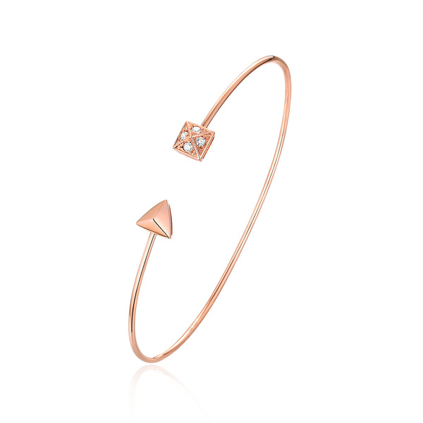 Rose Gold Diamond Bracelet - S2012231