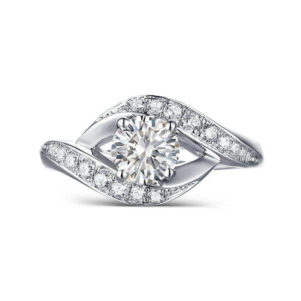 Modern Engagement Ring S2012653A