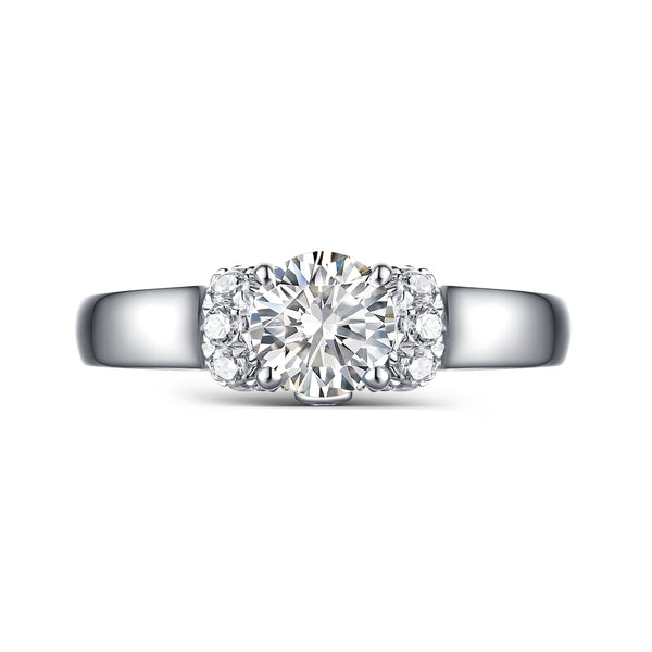 Modern Engagement Ring S2012654A