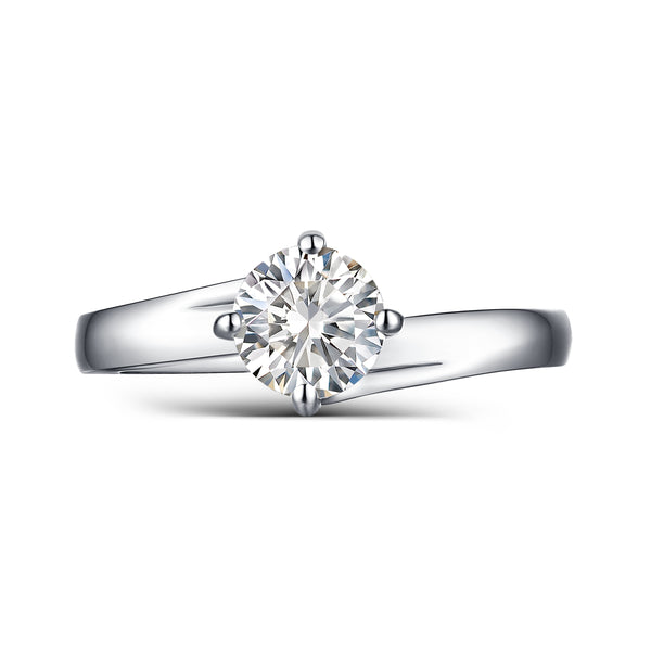 Modern Engagement Ring S2012655A