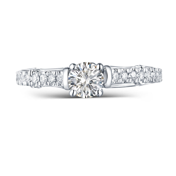 Modern Engagement Ring S2012657A