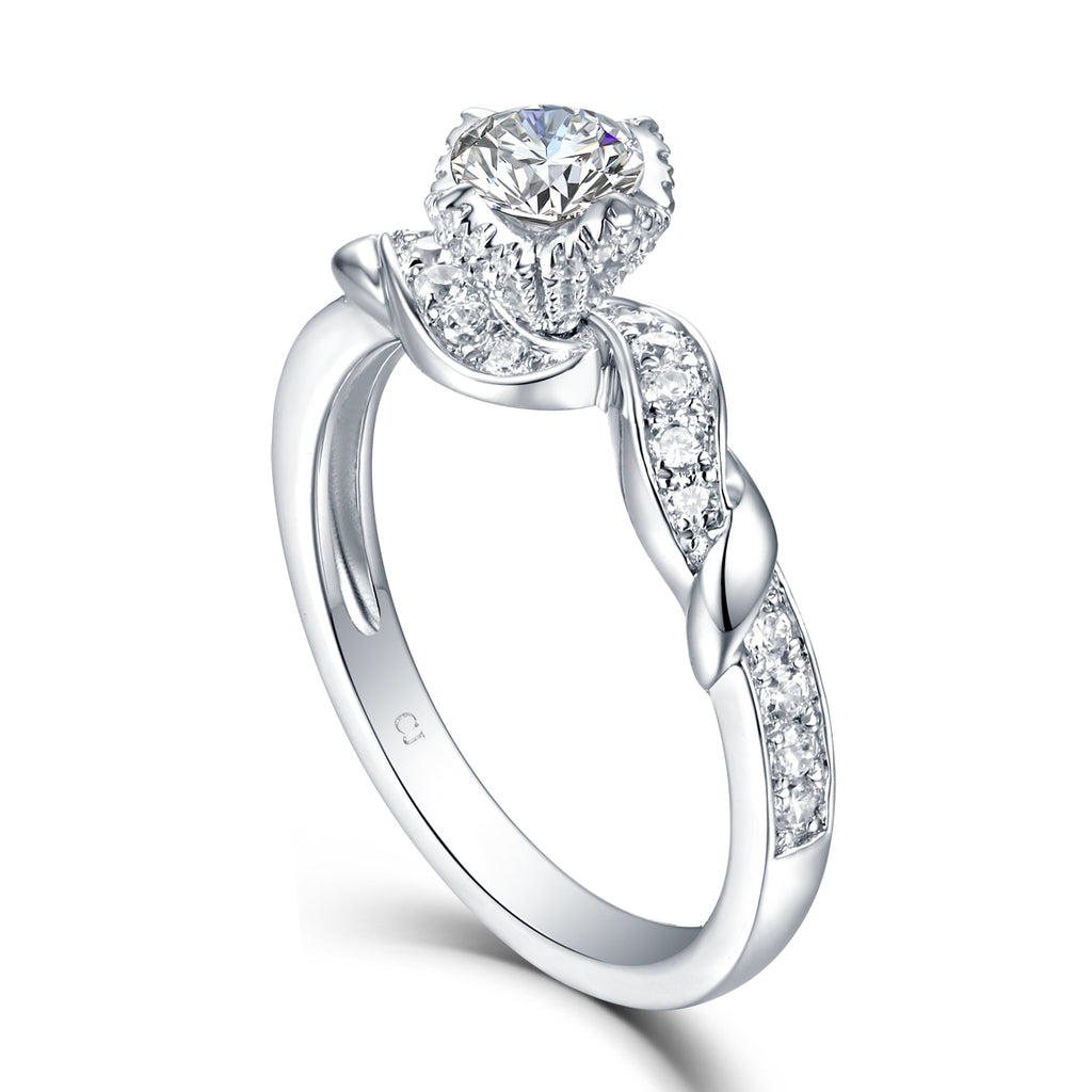 Modern Engagement Ring S2012658A