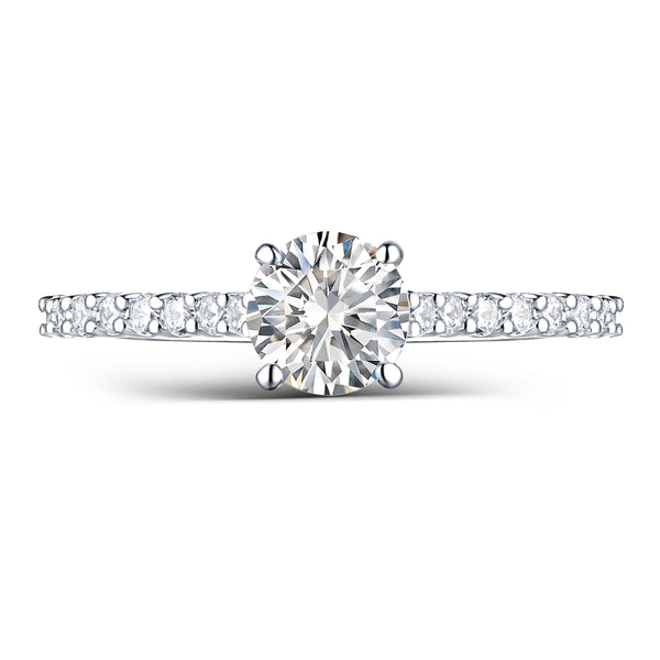 Modern Engagement Ring S2012660A