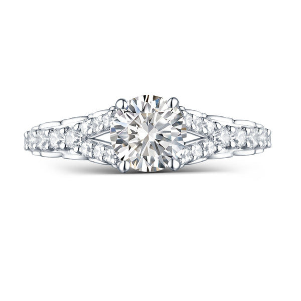 Modern Engagement Ring S2012661A