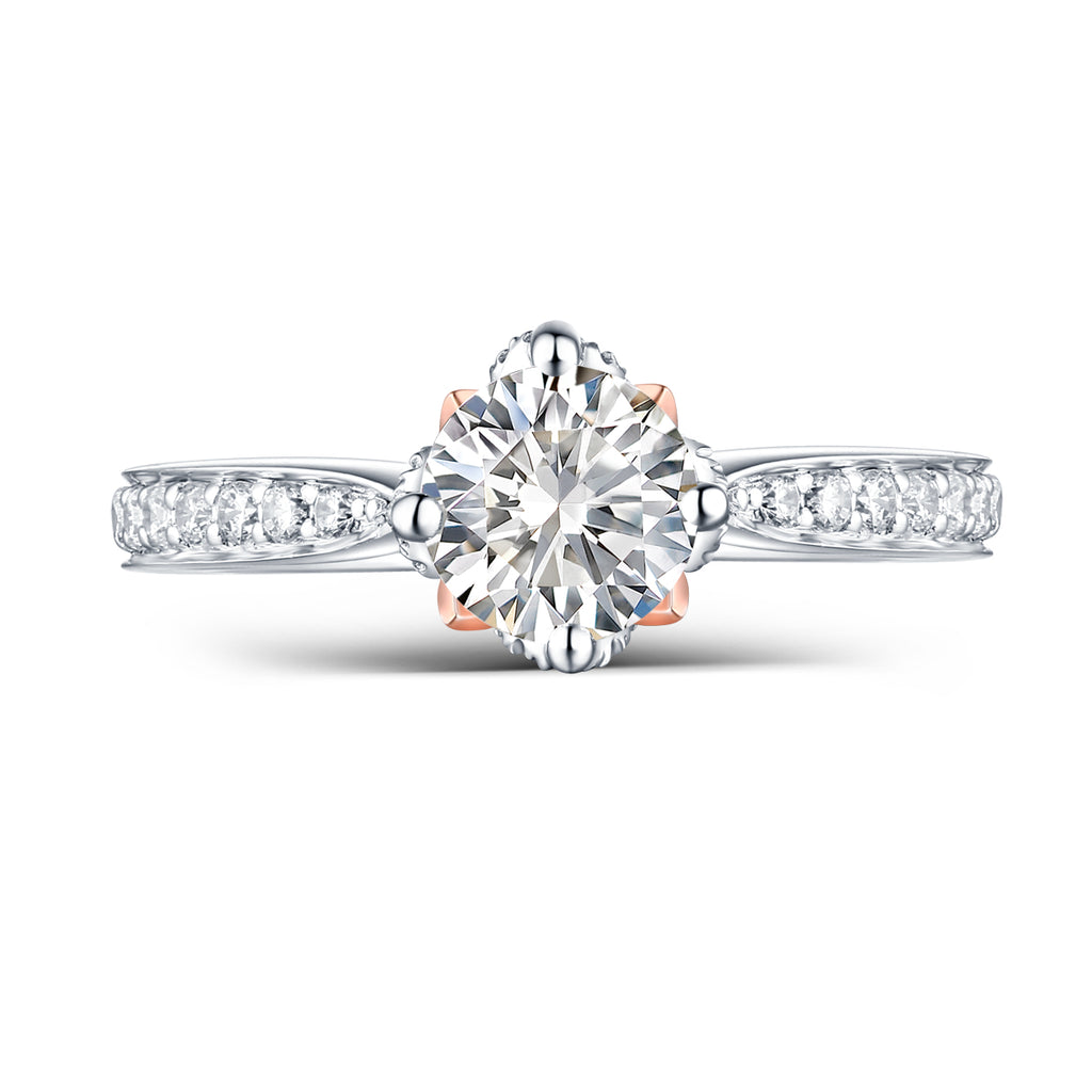 Copy of Modern Engagement Ring S2012662A