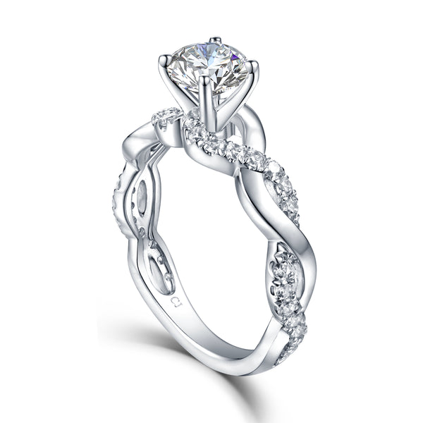 Copy of Copy of Modern Engagement Ring S2012663A