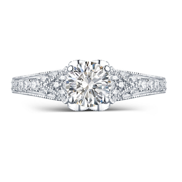 Modern Engagement Ring S2012664A