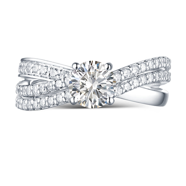 Modern Engagement Ring S2012665A