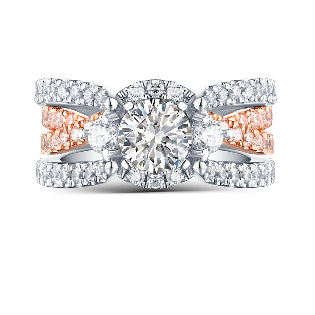 Modern Engagement Ring S2012666A