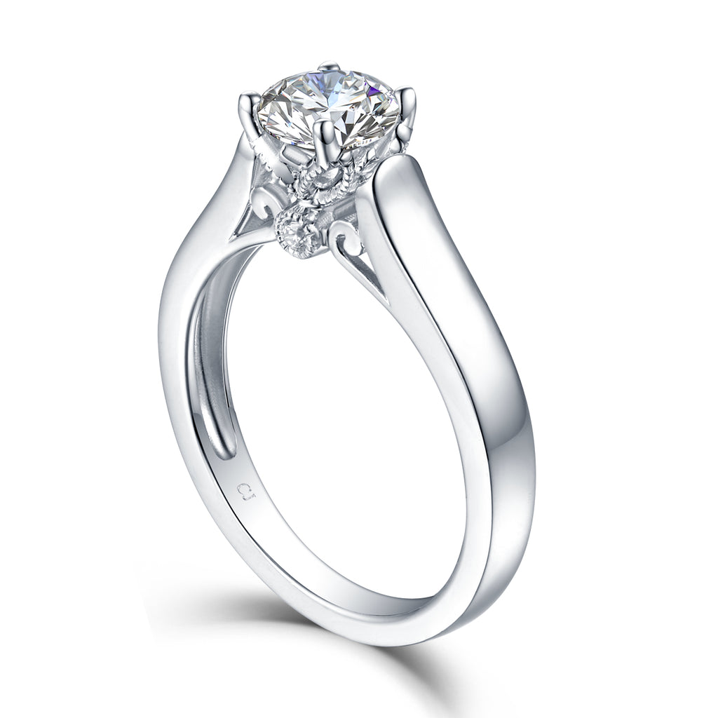 Solitaire Engagement Ring S2012668A