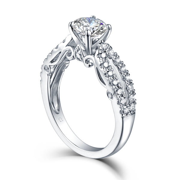 Modern Engagement Ring S2012685A