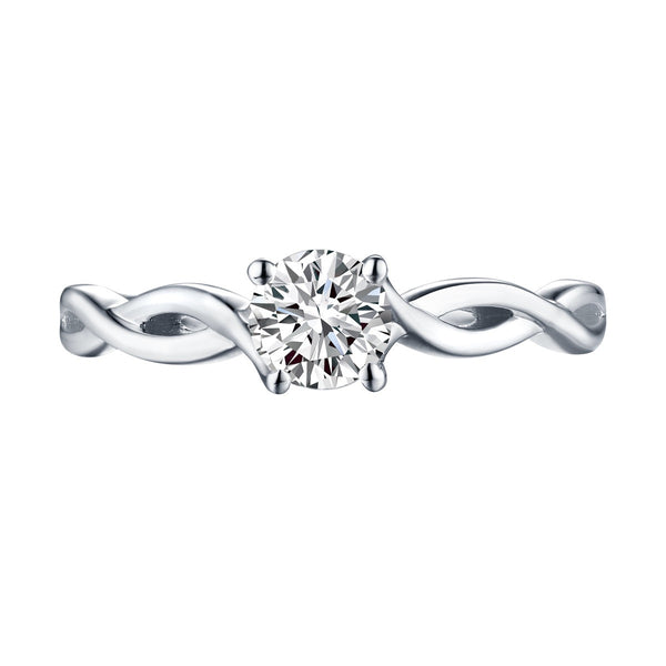 Solitaire Round Engagement Ring S201579