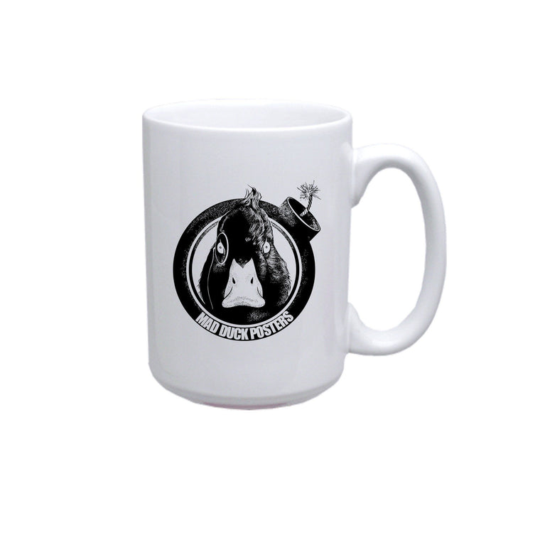 Mad Duck Logo Coffee Mug