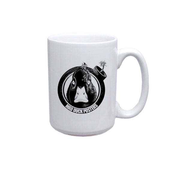 Mad Duck Logo Coffee Mug - Mad Duck Posters
