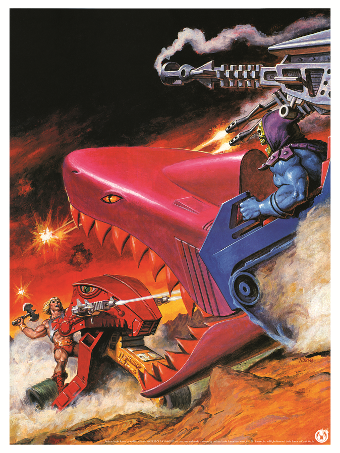 Land Shark Duel - Power Variant - Mad Duck Posters