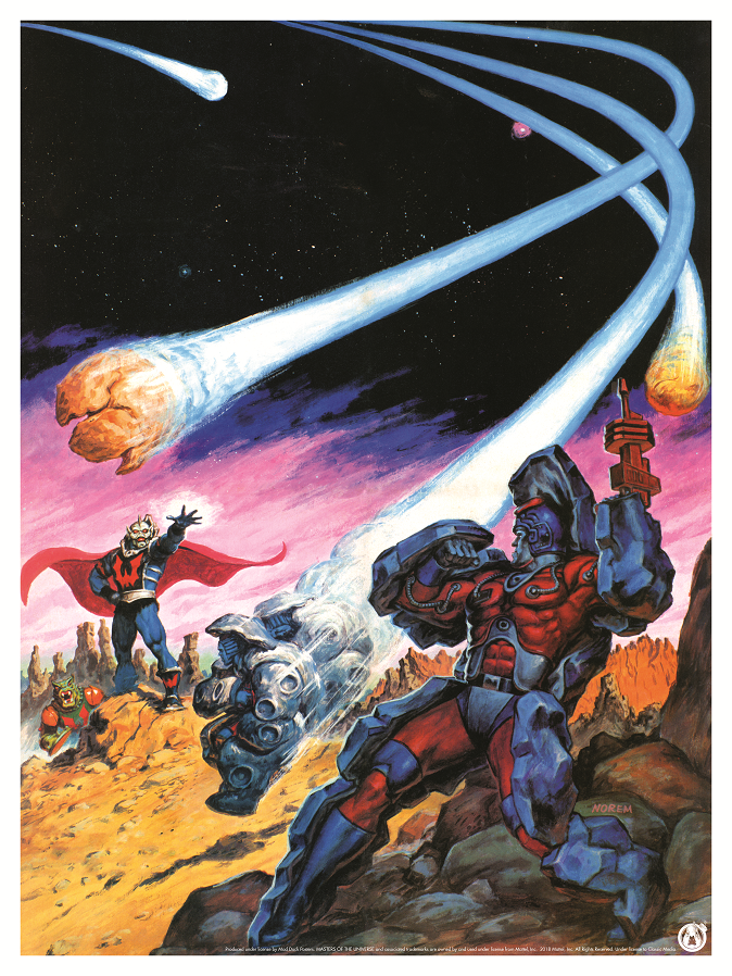 Hordak vs Stonedar - Power Variant - Mad Duck Posters