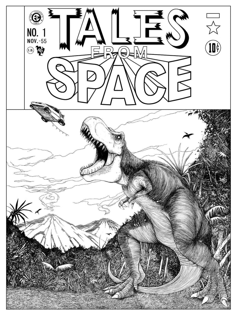 Tales From Space #1 - Keyline
