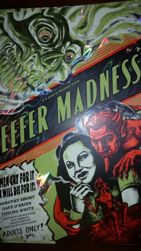 Reefer Madness - Crystal Variant - Mad Duck Posters