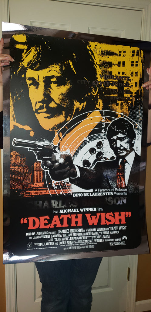 Death Wish - Foil  Variant - Variant Colorway - JD - Mad Duck Posters