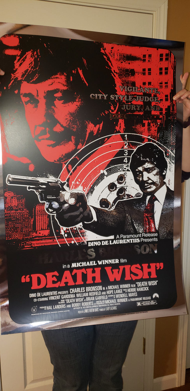 Death Wish - Foil Variant - Regular Colorway- JD